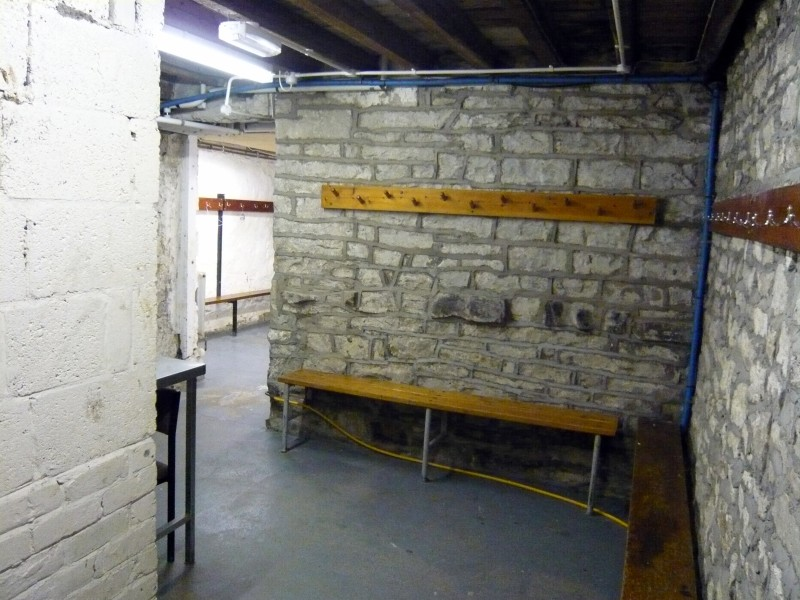 Cellar - Wet Entrance & Changing Area